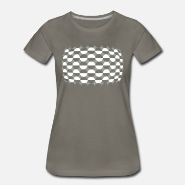 Optical Optical Illusion Just For - Women's Premium T-Shirt