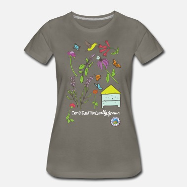Pollinators Pollinator and Wildflower Shirt - Women's Premium T-Shirt