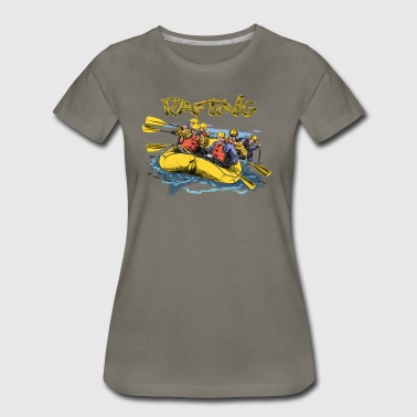 rafting - Women's Premium T-Shirt