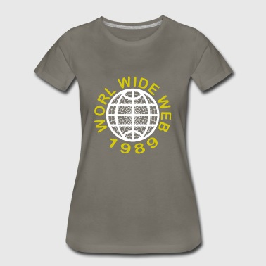 Web Admin World Wide Web 1989 - Women's Premium T-Shirt