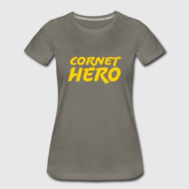 Cornet Hero - Women's Premium T-Shirt