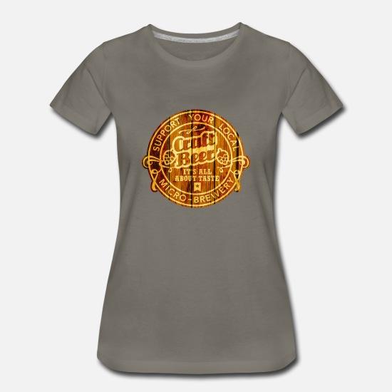 4d6f52b24 Craft Beer, wood Women's Premium T-Shirt | Spreadshirt
