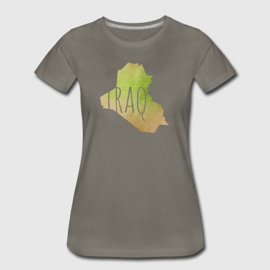 Iraq - Women's Premium T-Shirt