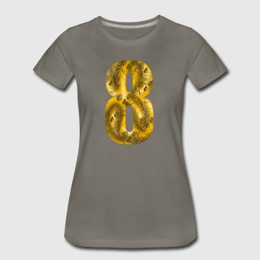 number eight - Women's Premium T-Shirt