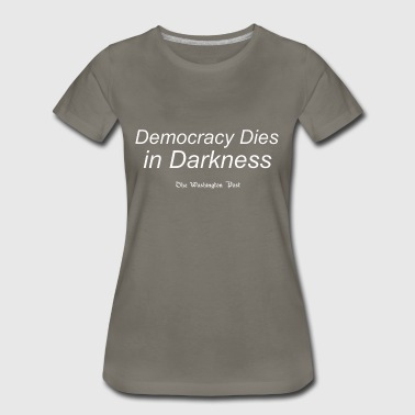 Washington Post Democracy - Women's Premium T-Shirt