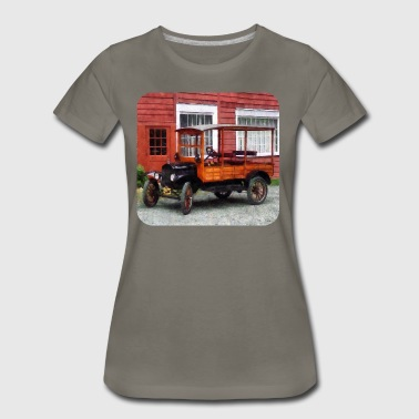 Model T Station Wagon - Women's Premium T-Shirt