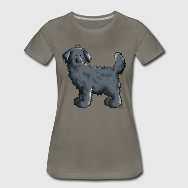 Black Newfoundland Dog - Dogs - Giant - Gift - Women's Premium T-Shirt