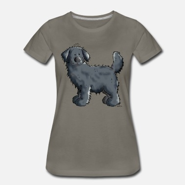 Black Newfoundland Dog Black Newfoundland Dog - Dogs - Giant - Gift - Women's Premium T-Shirt