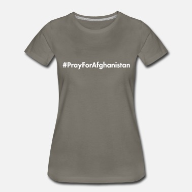 Isis Pray for Afghanistan - Women's Premium T-Shirt