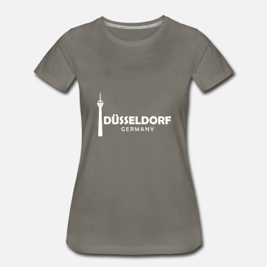 Imprint City Düsseldorf my city Germany - Women's Premium T-Shirt