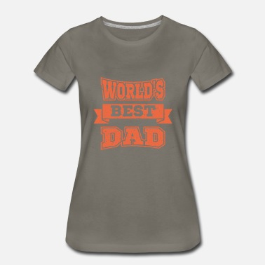 Baby On Board Best Daddy of the World Father's Day Gift Father D - Women's Premium T-Shirt