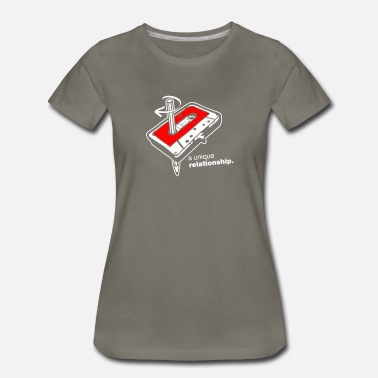 Unique Sports A Unique Relationship - Women's Premium T-Shirt