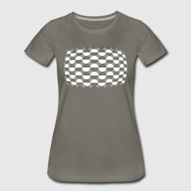 Optical Illusion Just For - Women's Premium T-Shirt
