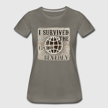 I survived the EPCOT Beverly - Women's Premium T-Shirt