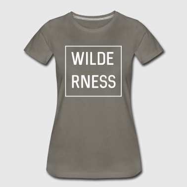 Wilderness - Women's Premium T-Shirt