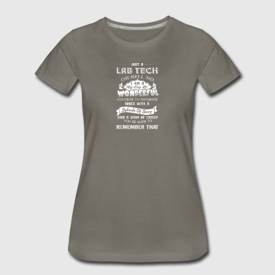 Wonderful Lab Tech Shirts - Women's Premium T-Shirt