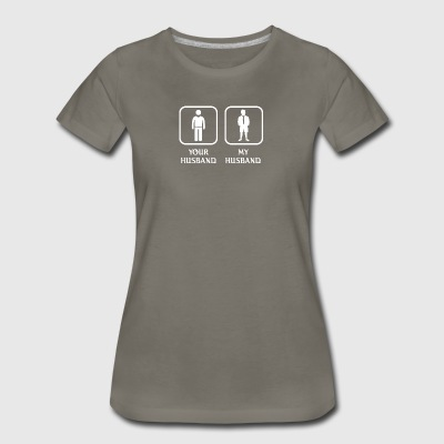 Husband Orienteering Love- cool shirt,geek hoodie - Women's Premium T-Shirt