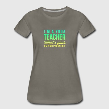 Yoga teacher - Women's Premium T-Shirt