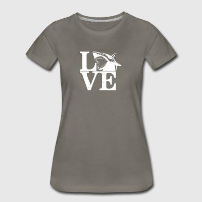 Love Sharks Tee Shirts - Women's Premium T-Shirt