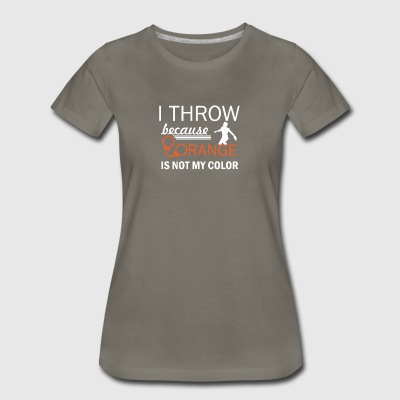 discus throw design - Women's Premium T-Shirt