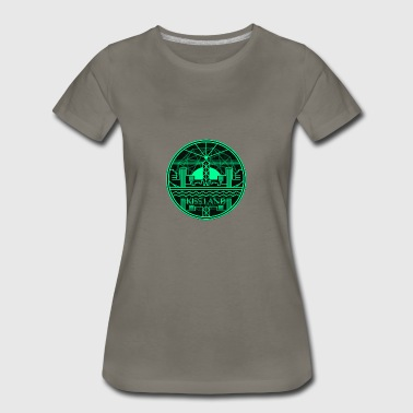 Kiss Land Logo The Weeknd - Women's Premium T-Shirt