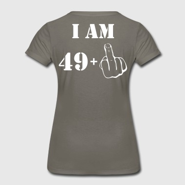 50th Birthday T Shirt 49 + 1 Made in 1967 - Women's Premium T-Shirt