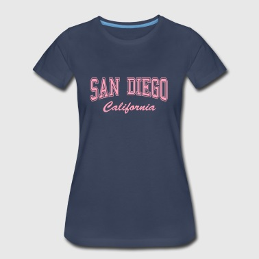 San Diego California - Women's Premium T-Shirt