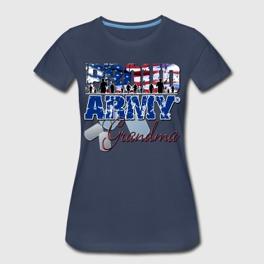 Proud Army Grandma - Women's Premium T-Shirt