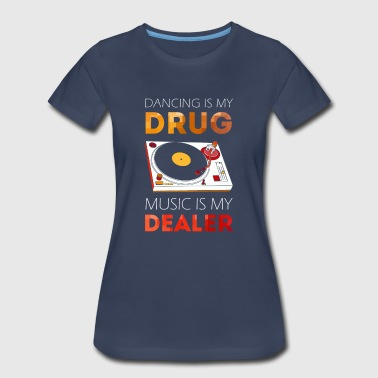 Techno drug dealer - Women's Premium T-Shirt