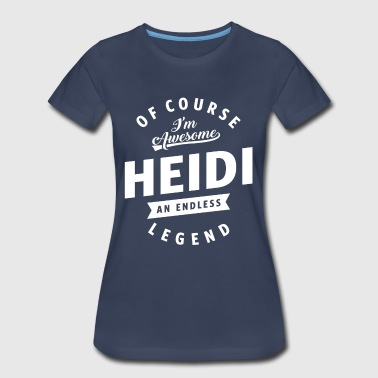 Awesome Heidi - Women's Premium T-Shirt