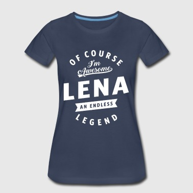 Awesome Lena - Women's Premium T-Shirt