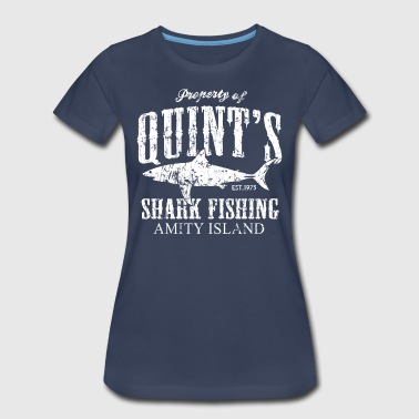 Quint Quints Shark Fishing - Women's Premium T-Shirt