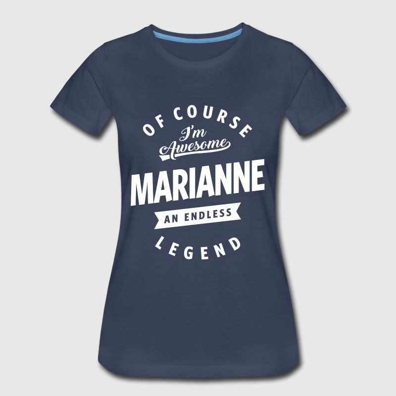 Awesome Marianne - Women's Premium T-Shirt