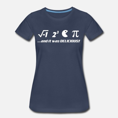 Pi Day PI-IT WAS DELICIOUS - Women's Premium T-Shirt