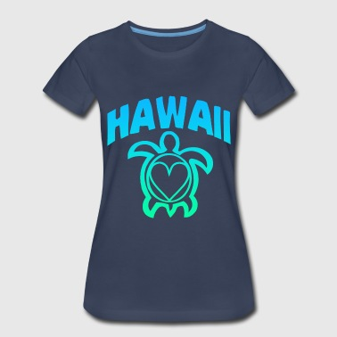 Hawaii Turtle - Women's Premium T-Shirt