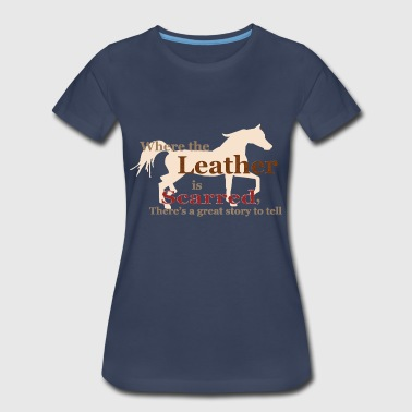 Arabian Horse w/ Quote - Women's Premium T-Shirt