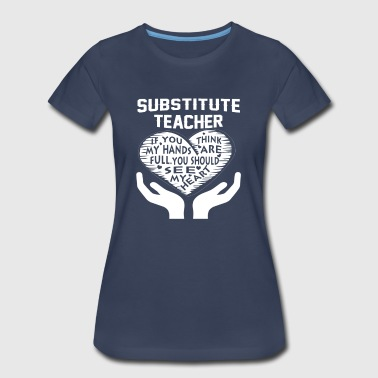 Substitute Teacher - Women's Premium T-Shirt