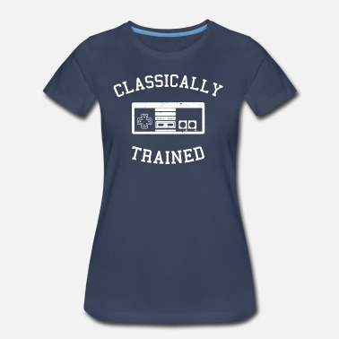 4xl Games Classically Trained - Nes - Women's Premium T-Shirt