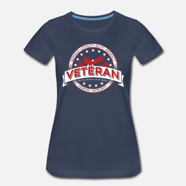 666443071 Memorial Day Veteran Soldier Military - Women's Premium T-Shirt