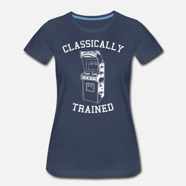 Trained Classically Trained - Arcade - Women's Premium T-Shirt