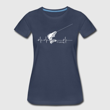 Heartbeat Fishing - Women's Premium T-Shirt