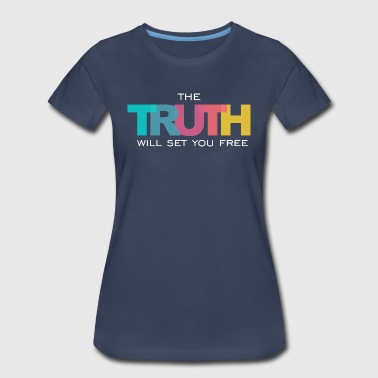 Set Free John 8 The Truth will set you Free - Women's Premium T-Shirt