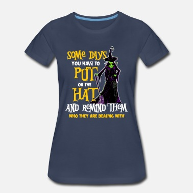 Witches Broom Funny Witch Witches Halloween Costume Bad Witch - Women's Premium T-Shirt