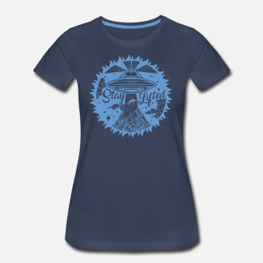 Above Lift Stay Lifted - Women's Premium T-Shirt