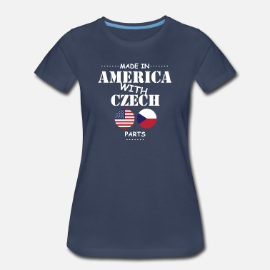 Czech Made in America - Women's Premium T-Shirt