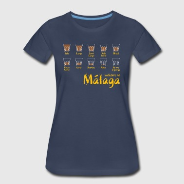 Welcome to Malaga (red) - Women's Premium T-Shirt