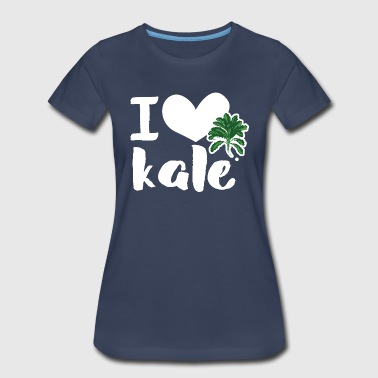 I love kale - Women's Premium T-Shirt