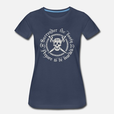 Pirate And Swords Pirate Skull and Swords - Women's Premium T-Shirt