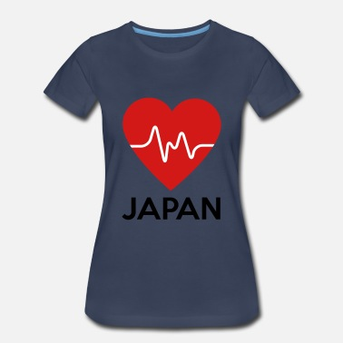 Heart Japan Heart Japan - Women's Premium T-Shirt
