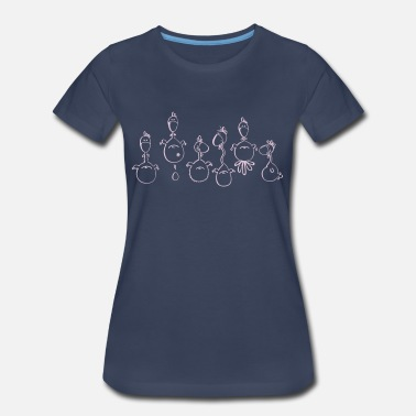 Crazy Chicken Crazy Chickens - Chicken - Women's Premium T-Shirt